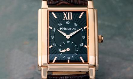Elegante Armbanduhr Heritor in der Farbe nach Wahl (Stuttgart)