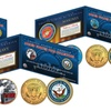 Armed Forces WWII Coin Collection JFK Half Dollars (2-Coin Set)