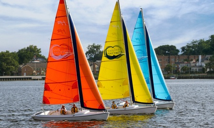 $75 for a Two-Hour Sailabout for Up to Four with Sail Nauticus ($110 Value)