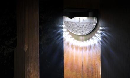 1 o 2 luci solari a sfera con funzione di accensione e spegnimento automatico