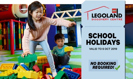 LEGOLAND Discovery Centre Melbourne: $29.25 for Entry for Child or Adult