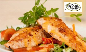 Black Wattle Cafe: Café Lunch with Drink for One ($13), Two ($25) or Four People ($45) at Black Wattle Café, Malvern (Up to $104 Value)