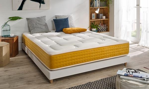 Luxury Elite Gold Visco Luxury Matratze Oder Muelle Ensacado Taschenfeder Matratze H22 In Der Grosse Nach Wahl