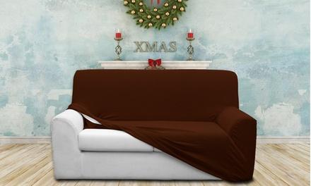 Housse de canapé extensible, coloris au choix