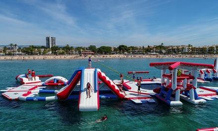 Acceso al parque acuático en Playa el Padrón, Estepona con Water Games (hasta 29% de descuento)