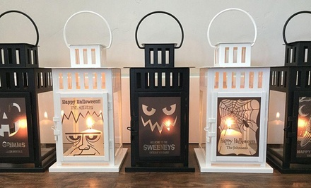 One or Two Personalized Lanterns from Qualtry (Up to 53% Off)