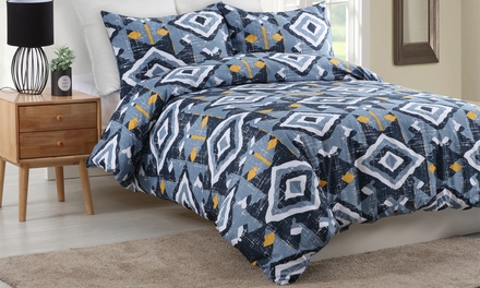 $25 for a Dreamaker Printed Quilt Cover Set in Choice of Design, All Sizes