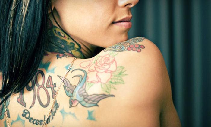 Blue Tattoo Cafe - El Cajon: One-Hour Tattoo Session or Permanent-Makeup Session at Blue Tattoo Cafe in El Cajon (Up to 78% Off)