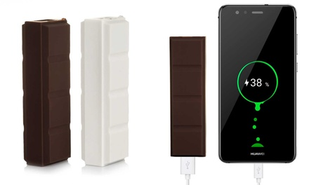 Powerbank barra cioccolato 2600mAh