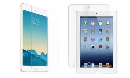 1 o 2 vetri temperati per dispositivi Apple disponibili in vari formati