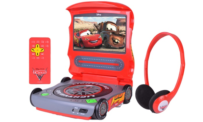 disney cars 7 portable dvd player groupon. Black Bedroom Furniture Sets. Home Design Ideas