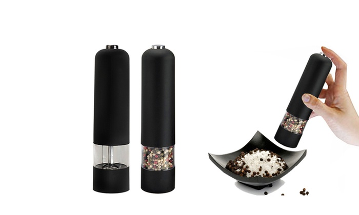 Electronic Salt & Pepper Mill