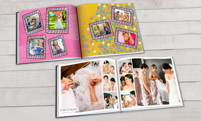 Personalized Photobook of 20 to 100 Pages of Your Choice from PhotobookShop (Up to 80% Off)