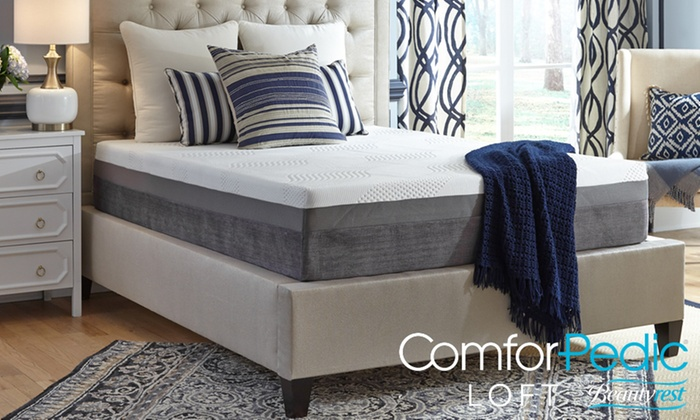 Up To 74 Off on Memory Foam Mattress Groupon Goods