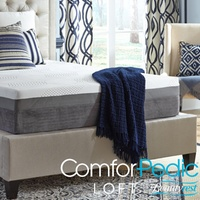 Deals on ComforPedic Loft from Beautyrest 12-inch Gel Memory Foam Mattress