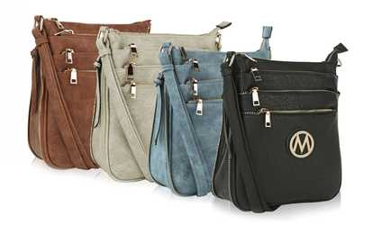 Groupon Mkf Collection Salome Multi Compartment Purse By Mia K Farrow