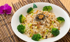 Wutai Vegetarian Restaurant: Chinese Food at Wutai Vegetarian Restaurant (Up to 42% Off). Three Options Available.