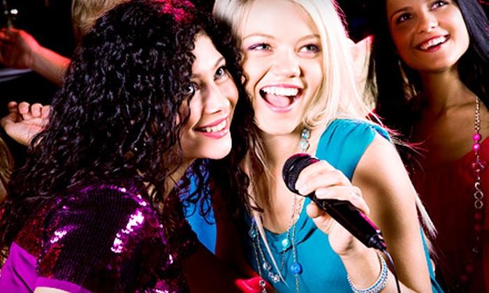 Pandora Karaoke & Bar - Downtown: $25 for $50 Worth of Private Karaoke-Room Rental and Drinks at Pandora Karaoke & Bar