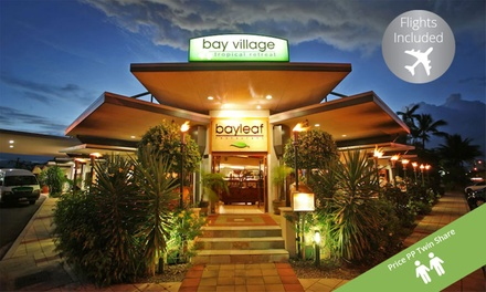 ✈QLD, Cairns: From $449 for 4-7 Nights at Bay Village Tropical Retreat Cairns w/ Flights (Per Person, Twin Share)