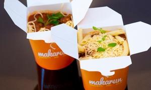 Makarun Spaghetti and Salad: Duży makaron lub sałatka dla 2 osób za 14,99 zł w Makarun Spaghetti and Salad (do -46%)