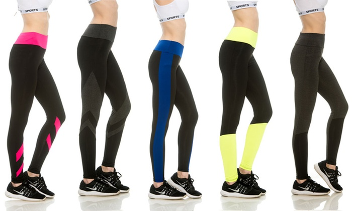33 Flex Women's Colorblock Activewear Pants