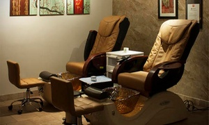 Up to 22% Off Mani-Pedi at Qi Spa at Qi Spa, plus 6.0% Cash Back from Ebates.