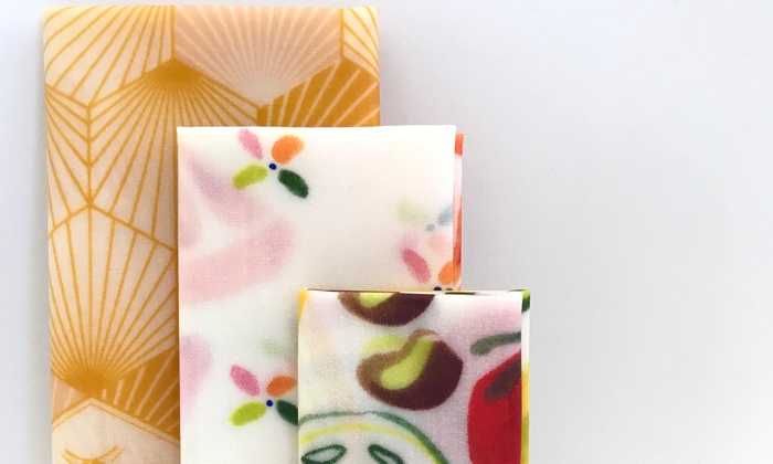 Beeswax Reusable Food Cover Wraps | Groupon