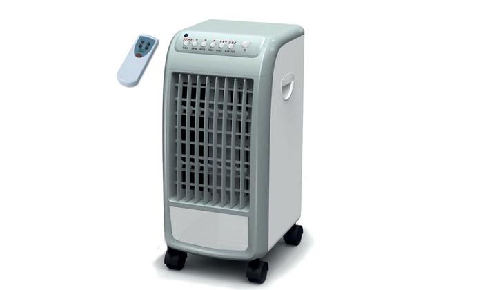 Condizionatore portatile max groupon goods for Ventilatore refrigerante