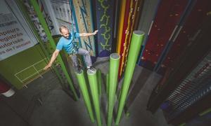 Clip'n Climb: Ontdek het sport-en recreatiecentrum Clip'n Climb By What's Up voor € 9,90