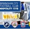 Birmingham City VIP Package