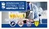 Birmingham City Football Club - St Andrews Stadium: Birmingham City Hospitality VIP Package: Four Fixtures, 17 February 2018 – 7 April 2018 at Birmingham City FC