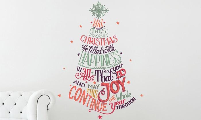 Adesivo Albero di Natale