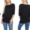 Women's Dolman Sleeve Tunic Top