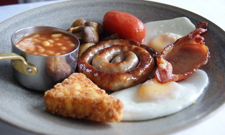 Full English Breakfast for Two or Four at King's Restaurant