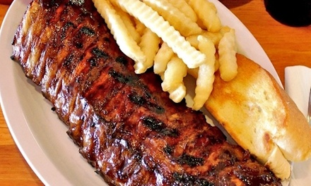 American Cuisine at Scruby's BBQ (Up to 46% Off). Three Options Available.