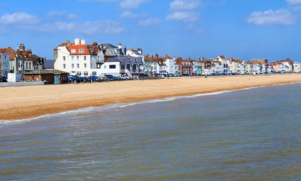 Kent: 1-, 2- or 3-Night Seafront Stay for Two at The Clarendon Hotel