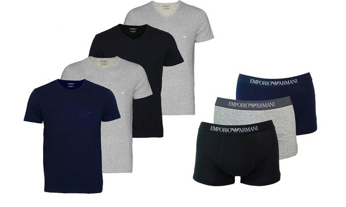 2 T-shirts et 3 Boxers Armani   Groupon 477acaf8a24
