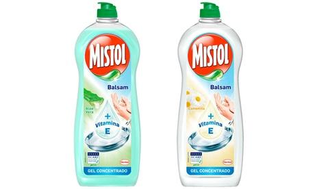 Pack de 6, 8 o 10 botellas de lavavajillas de mano Mistol
