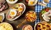 Hofbräu Hannover - Hannover: Wirtshaus-Frühstücks-Buffet mit Süßem und Herzhaftem für 2 oder 4 Personen im Hofbräu Hannover (bis zu 37% sparen*)