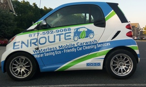 Enroute : A Waterless Mobile Carwash Service: Silver or Gold Detail for Car or SUV at Enroute (Up to 55% Off)