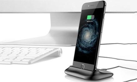 Station Apachie de chargement pour tous iPhone avec câble, aux coloris de liPhone