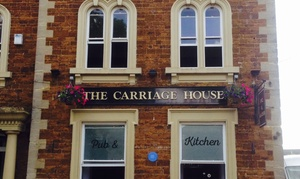 The Carriage House: Afternoon Tea with Optional Prosecco or Cocktails for Two or Four at The Carriage House (Up to 45% Off)