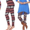Women's One-Size Printed Leggings