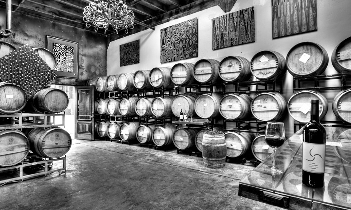 Carruth Cellars - Solana Beach: Wine Tasting and Winemaking Tour for Two or Four at Carruth Cellars (Up to 51% Off)
