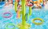Inflatable Cactus Ring Toss Game Set
