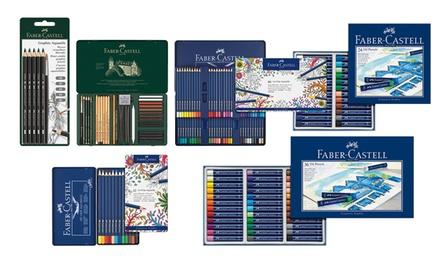 Diverse sets met schrijf, teken en verfmateriaal vanaf € 7,99 tot korting