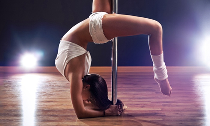 Live It Up Pole Fitness Studio - Markham: Pole Basics, Pole Fitness, or Aerial Yoga Classes at Live It Up Pole Fitness Studio (Up to 55% Off)