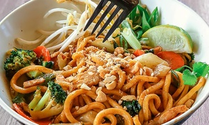 Asian Food at Wok Box (Up to 42% Off). Three Options Available.