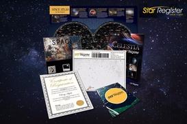 Star Register: NameaStar -Deluxe($12)orMilkywayPackage($19)fromStarRegister(Up to $99 Value)