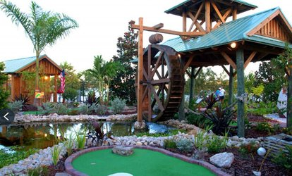 Up to 22% Off Rounds of Mini-Golf at The Fish Hole